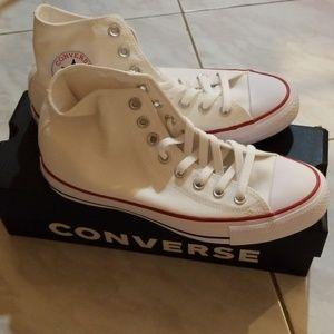 Converse women's Chuck Taylor high top sneakers